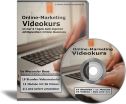 19-stündiger Online Marketing Videokurs