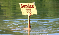 Sie müssen Service groß schreiben!